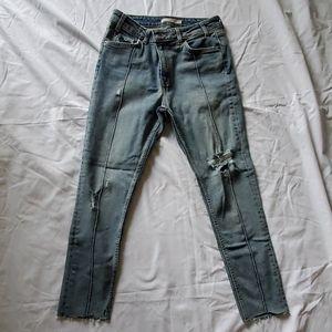 Levi vintage straight skinny jean